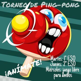 Partidos de tenis de mesa b dminton y torneo de ping pong blog del ies turgalium - Torneo tenis de mesa ...